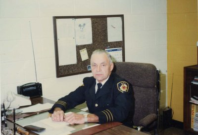 Deputy Fire Chief Ron Hawkins