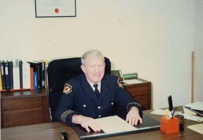 Fire Chief Taff Evans
