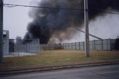 Ajax Audo Recycling fire