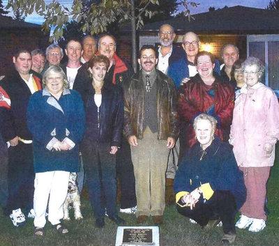 Ajax Veterans Street Dedication: Gibson Court
