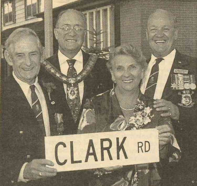 Ajax Veterans Street Dedication: Clark Road