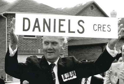 Ajax Veterans Street Dedication: Daniels Crescent