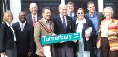 Ajax Veterans Street Dedication: Turnerbury Avenue (Roy)