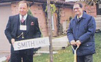 Ajax Veterans Street Dedication: Smith Lane (Eric)