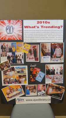 Ajax Public Library 60th Anniversary Memory Boards - 2010's