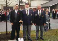 Ajax Veterans Street Dedication: Lambard Crescent