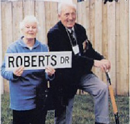 Ajax Veterans Street Dedication: Roberts Drive
