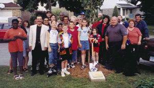 Ajax Veterans Street Dedication: Reed Drive