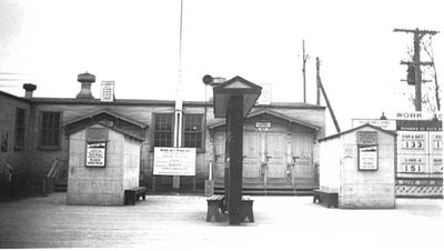 Front Entrance Gate House at Defence Industries Limited Ajax, Ontario