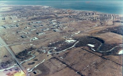Aerial Photograph, South Ajax 1980