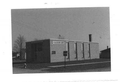 Salvation Army, Ajax 1959