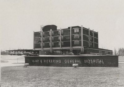 The New Ajax and Pickering General Hospital