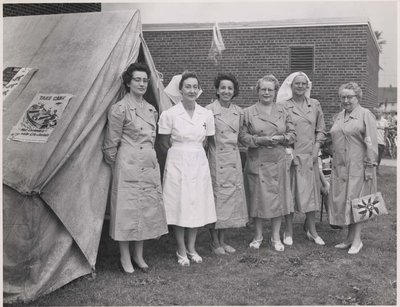 A group of nurses