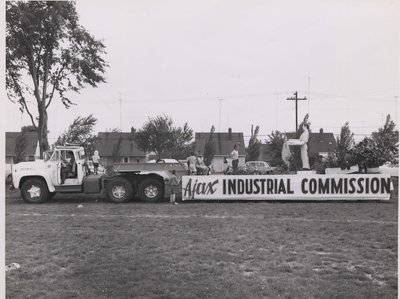 Industrial Commission float