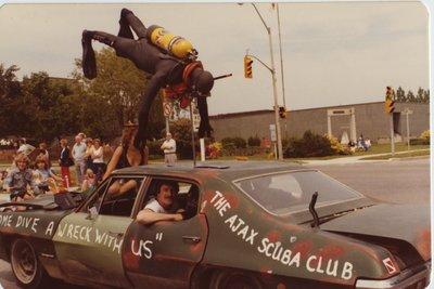 Ajax Scuba Club float