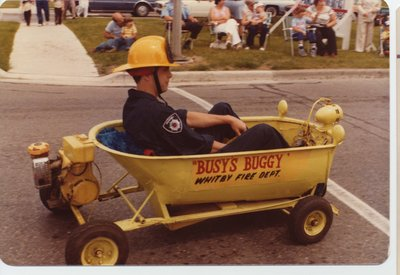 Busy's Buggy float