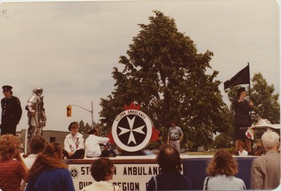 St. John Ambulance Float