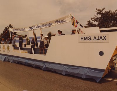 Wimpey Canada Ltd. H.M.S. Ajax Float