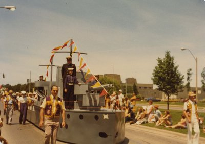 The Navy League Float