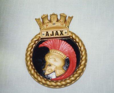 H.M.S. Ajax Crest