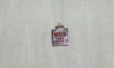 WVS Civil Defence Pin