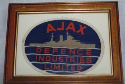 Defence Industries Limited Patch