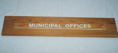 Municipal Offices Sign