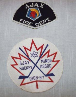 Ajax Hockey Minor Association Patch