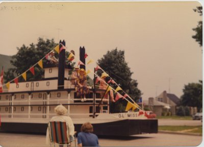 Mississippi Riverboat Float