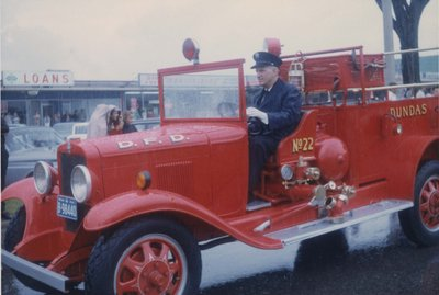 Dundas Fire Department Truck
