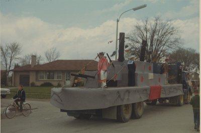 H.M.S. Ajax Float
