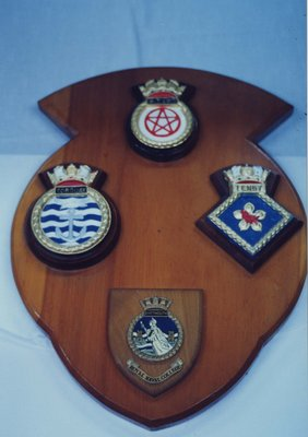 Dartmouth Royal Naval College Crest