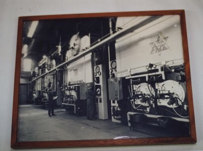 A Framed Picture of the Steam Plant