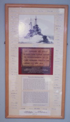 The Chilean Bronze Plaque