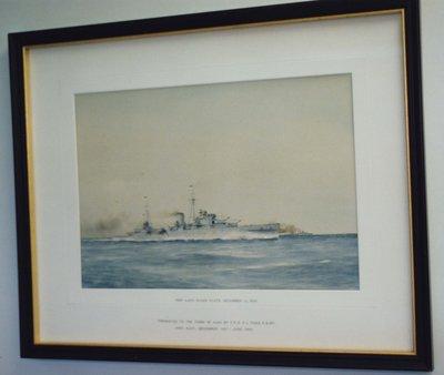 H.M.S. Ajax Painting
