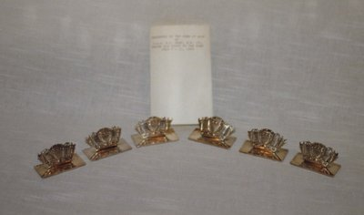 H.M.S. Ajax Napkin Holders
