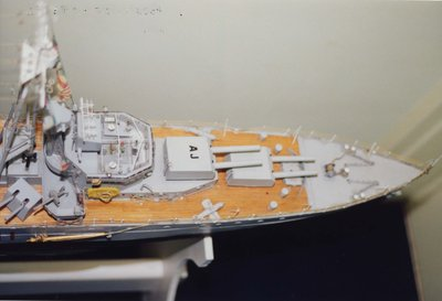 Model of the H.M.S. Ajax