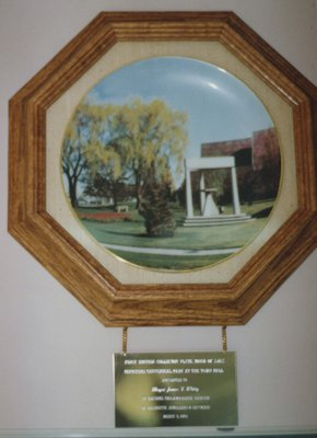 Town Hall Collector Plate