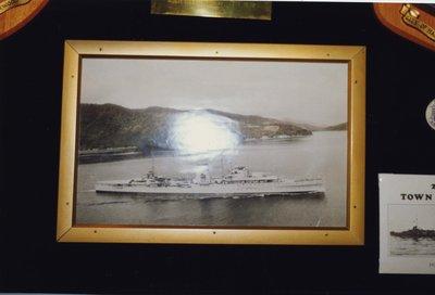 Photo of the H.M.S. Ajax