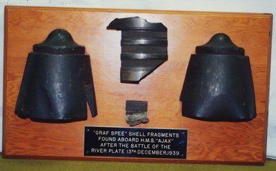 Shell Fragments from Graf Spee