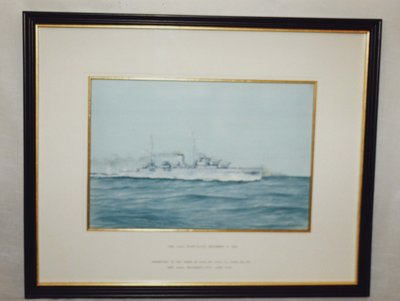 Painting of the H.M.S. Ajax