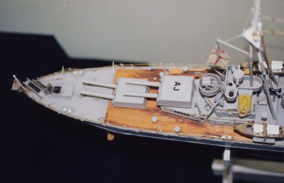 A model of H.M.S. Ajax