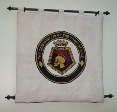 A Weaving of the Town's Crest