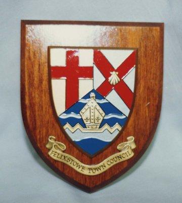 Felixstowe Town Council Crest