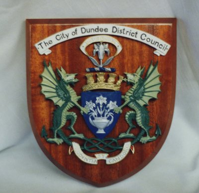 City of Dundee District Council crest