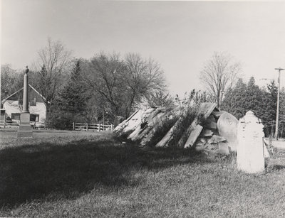 Elizabeth Street Cemetery Tombstones