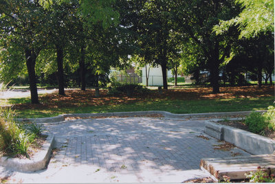Picov Parkette Entrance