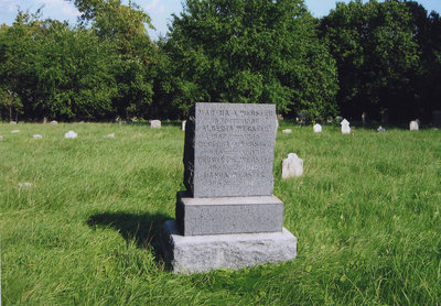 Webster Family Headstone