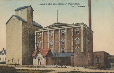 Spink's Mill and Elevator