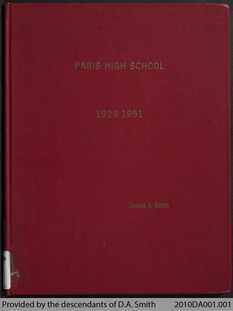 Paris High School, 1929 - 1951